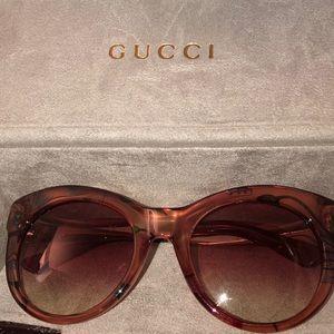 0d5a4b3b95 Women s Pink Gucci Sunglasses on Poshmark